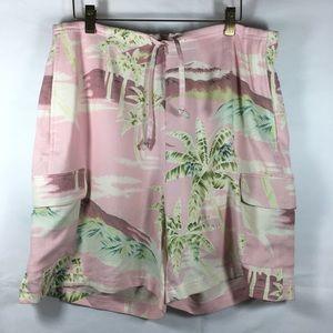 Tommy Bahama Silk Cargo Style Shorts